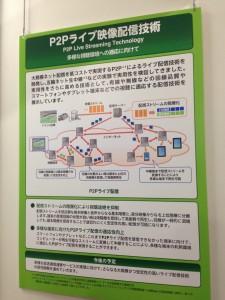 P2Pライブ映像配信技術