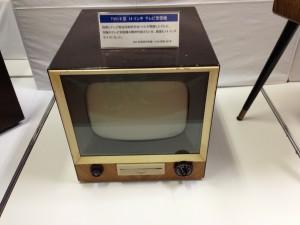 昭和30年のテレビ